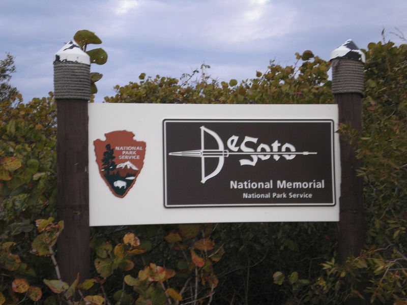 DeSoto sign
