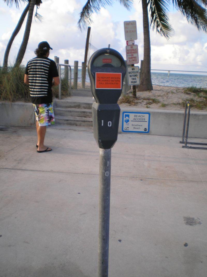1010 parking meter