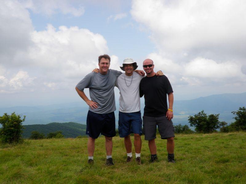 3 atop Gregary Bald