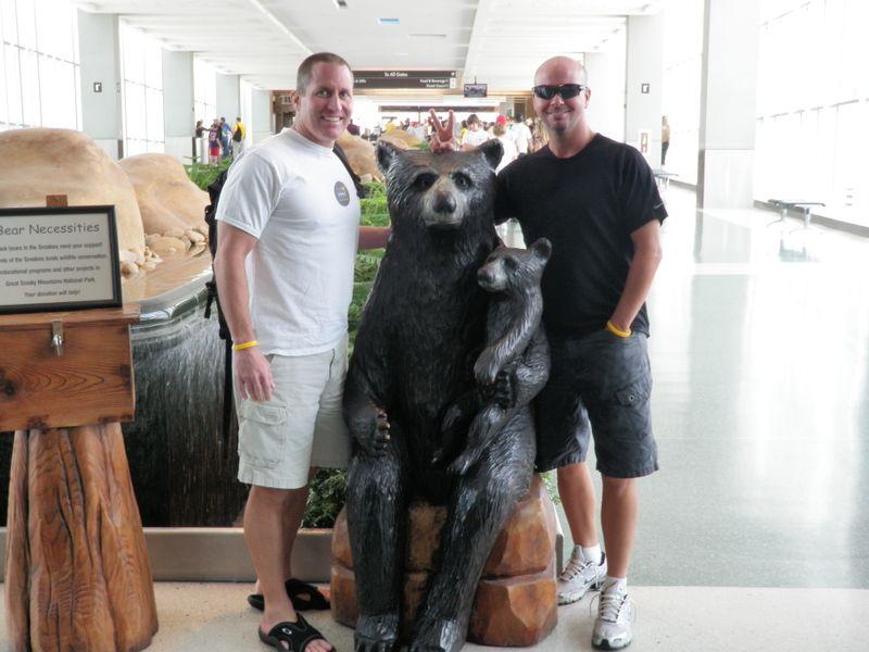 Airport bear