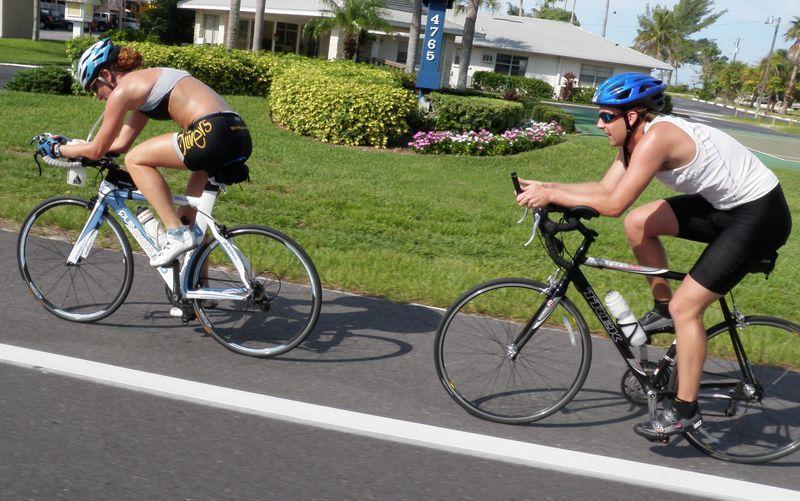 A bike team