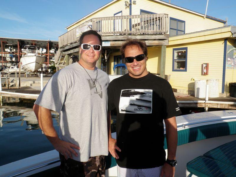 Joey & D prefish