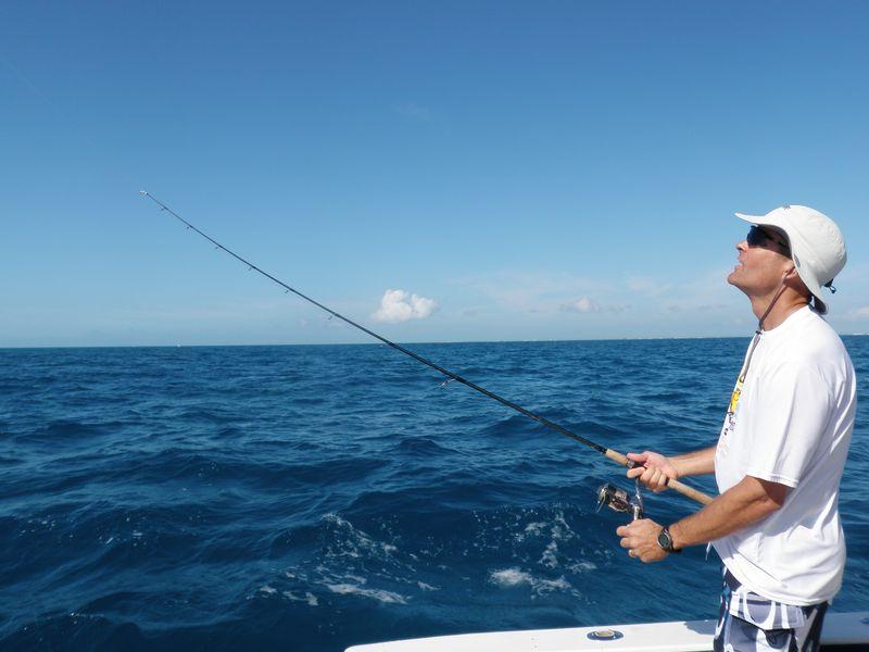 Frigate fishing