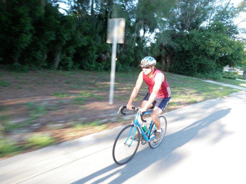 New rider Dave