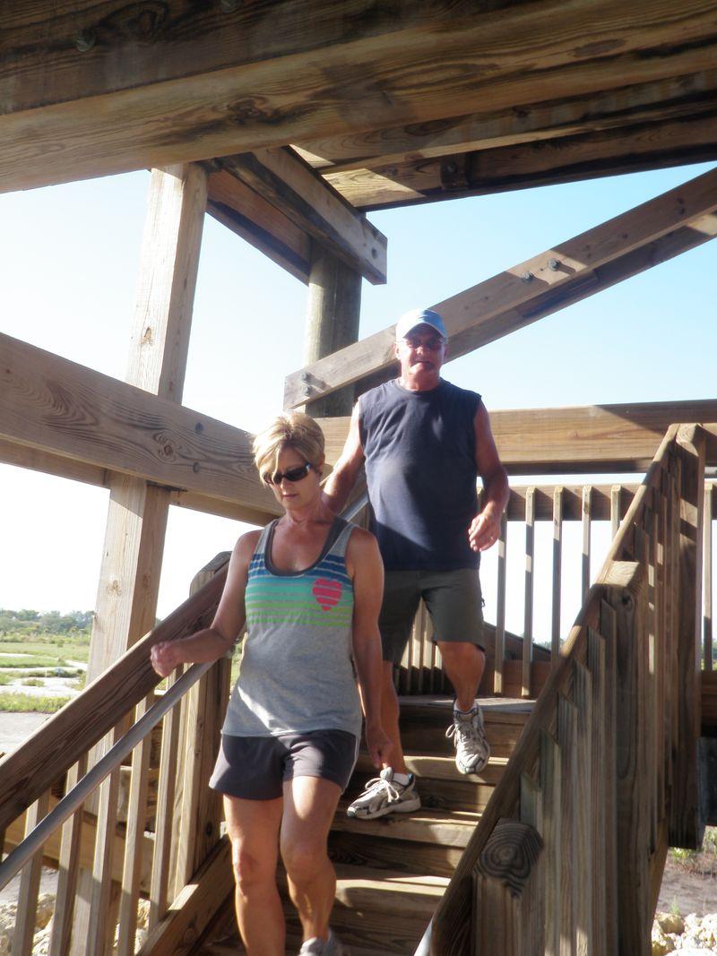 Nash tower climbling