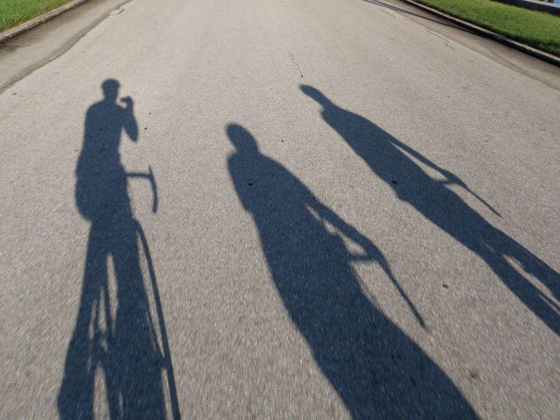 Dark riding strangers