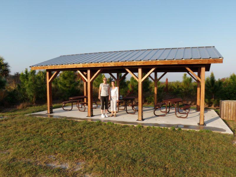 RP camping pavilion