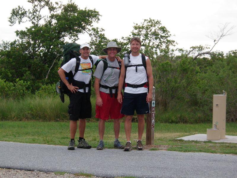 3 hiking stooges